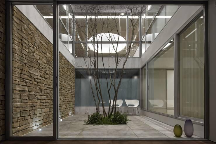 庭院 by Mアーキテクツ|高級邸宅 豪邸 注文住宅 別荘建築 LUXURY HOUSES | M-architects