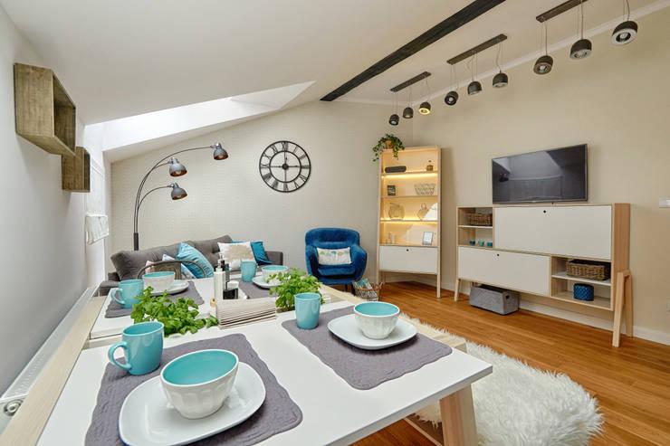 Wohnzimmer von DreamHouse.info.pl