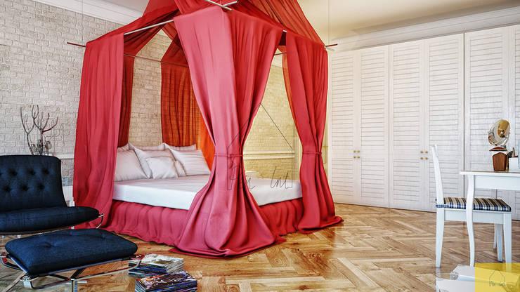 Penintdesign İç Mimarlık  – Loft Bedroom: modern tarz , Modern