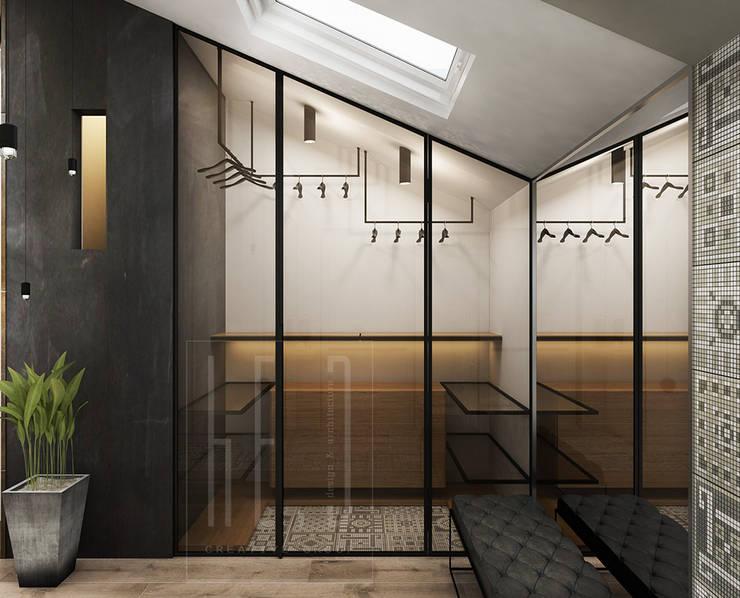 Closets de estilo minimalista de he.d group Minimalista