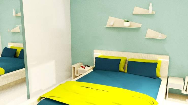 Dormitorios de estilo  de Tiffany FAYOLLE