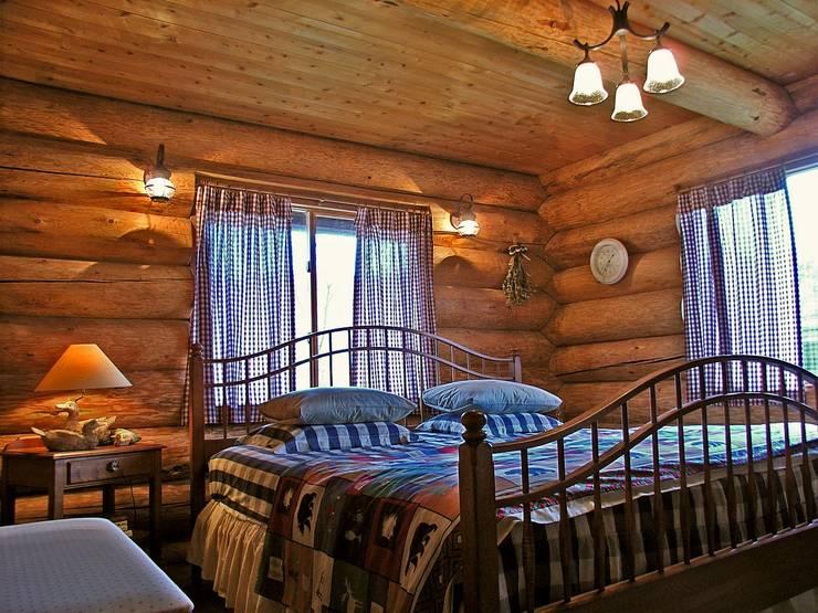 Projekty,  Sypialnia zaprojektowane przez Cottage Style / コテージスタイル