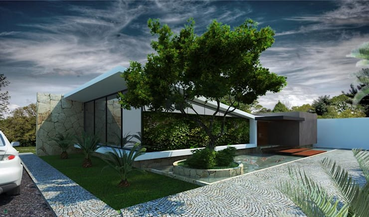 Houses by Esquiliano Arqs,