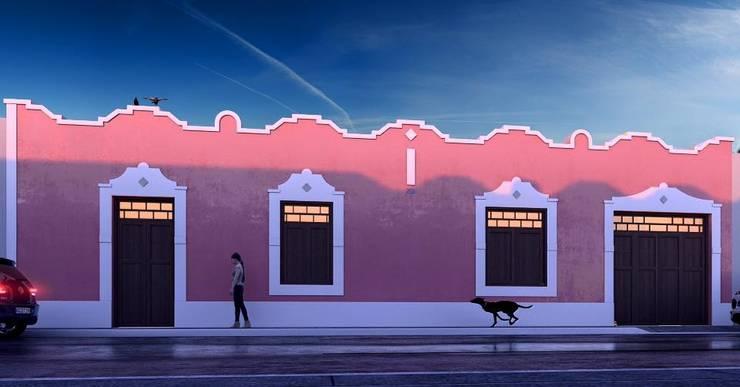 Casas de estilo  por Esquiliano Arqs