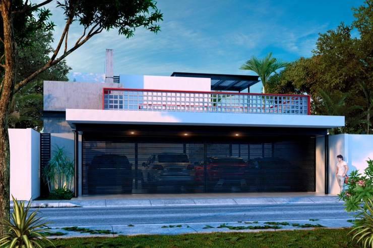 BL CC: Casas de estilo  por Esquiliano Arqs