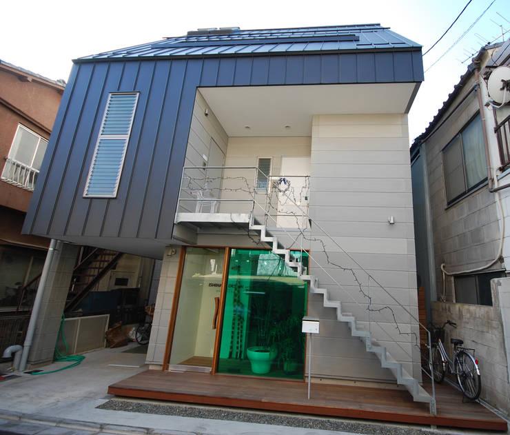 外観: 一級建築士事務所有限会社石原建設が手掛けた家です。