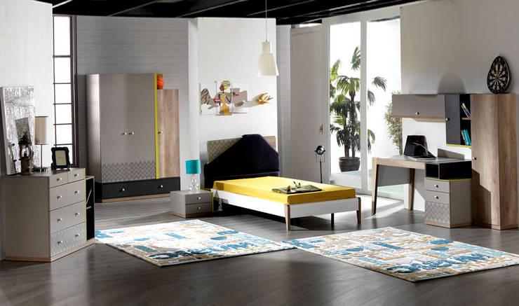 YILDIZ MOBİLYA – Esse Genç Odası: modern tarz Çocuk Odası