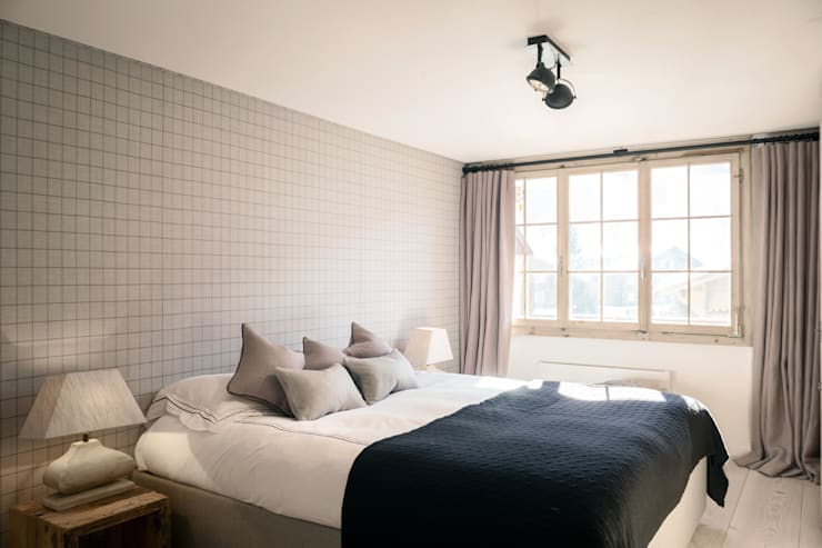 country Bedroom by Ardesia Design