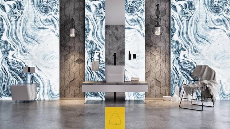 Penintdesign İç Mimarlık  – Bagno No.1:  tarz Banyo, Modern
