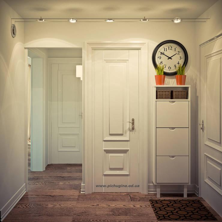 Квартира в доме серии I-464: Коридор и прихожая в . Автор – Tatyana Pichugina Design