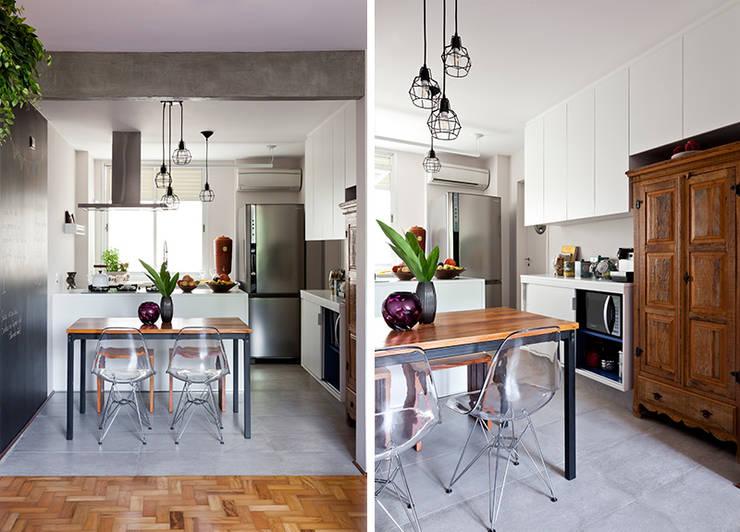 Salas de jantar  por INÁ Arquitetura