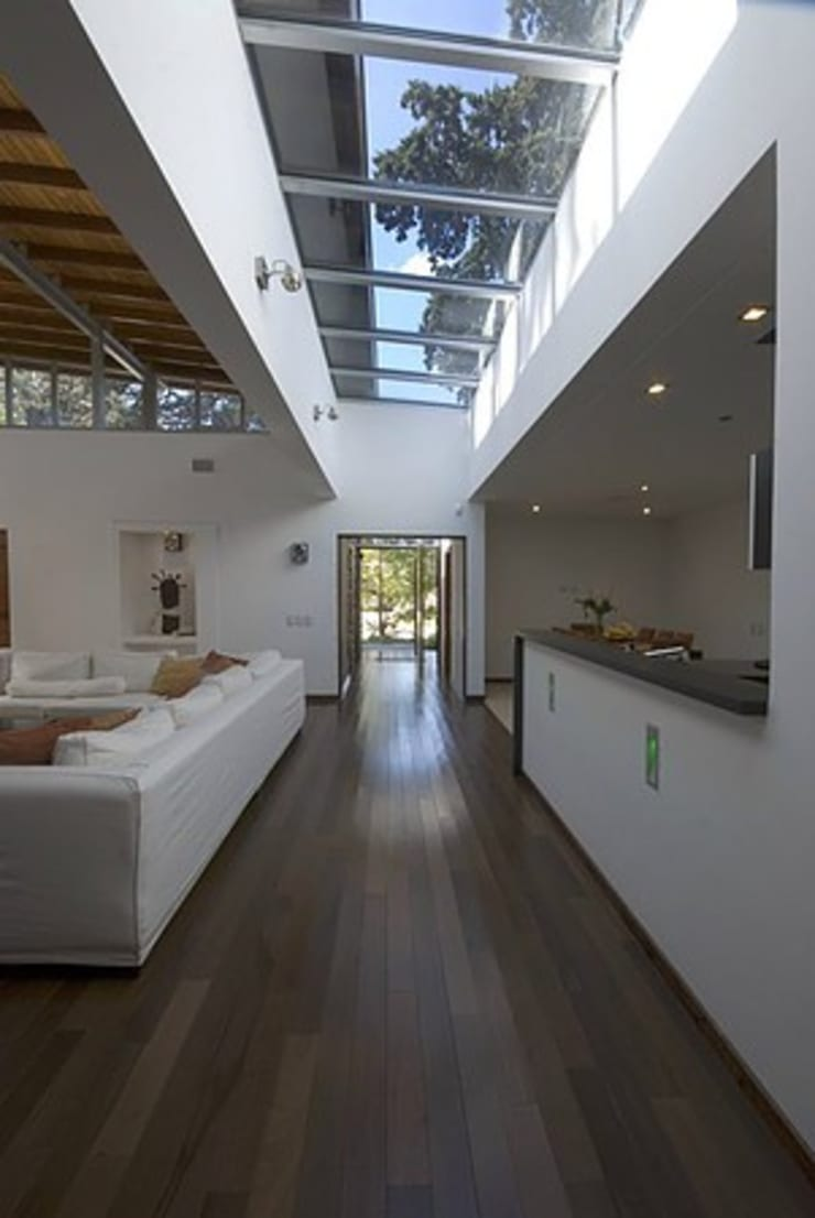 Casa P: Paredes de estilo  por Estudio PM