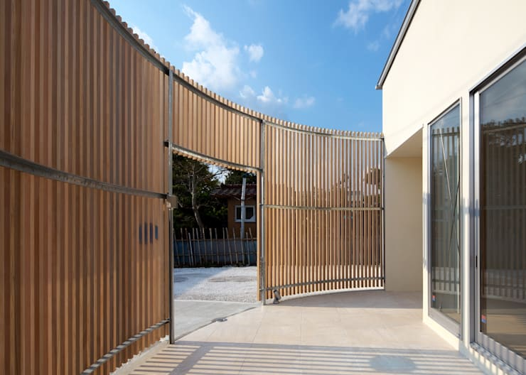 Projekty,  Domy zaprojektowane przez Unico design一級建築士事務所