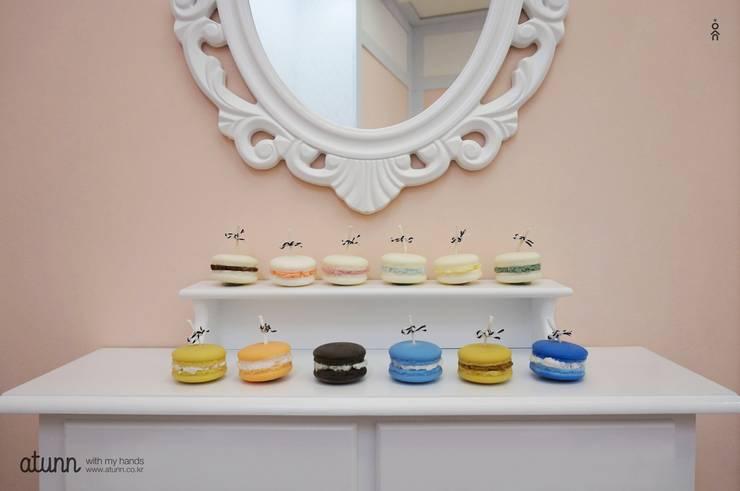 디저트캔들 - 마카롱 / 아이스크림캔들: 어떤의  가정 용품