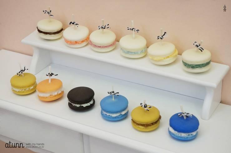 디저트캔들 – 마카롱 / 아이스크림캔들: 어떤의  가정 용품