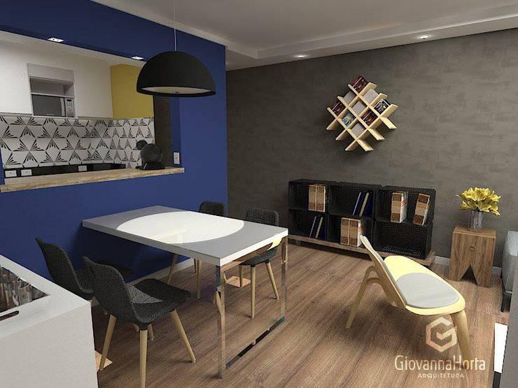 Imagem 02: Salas de jantar modernas por Estúdio G | Arquitetura