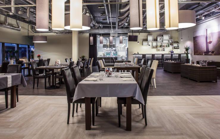 Restauracja: styl , w kategorii  zaprojektowany przez Patyna Projekt