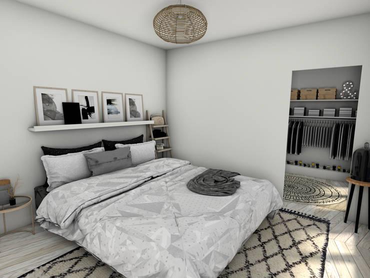 Suite Parentale: Chambre de style  par Dem Design