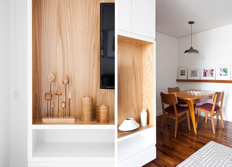 Dining room by INÁ Arquitetura