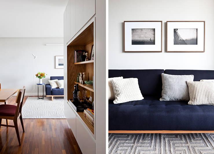 Sala: Salas de estar  por INÁ Arquitetura,