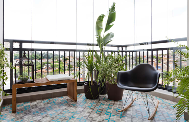 Terrace by INÁ Arquitetura