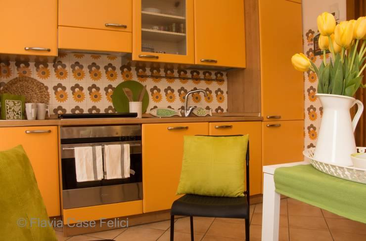 mediterranean Kitchen by Flavia Case Felici