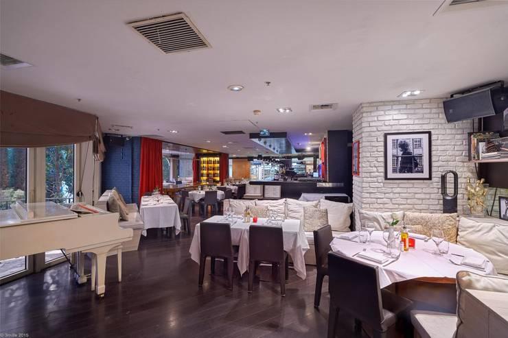 Viadurini realizuje wystrój prestiżowy Pacific Restaurant Bar Lounge w Montecarlo  : styl , w kategorii Gospodarstwo domowe zaprojektowany przez Viadurini.pl
