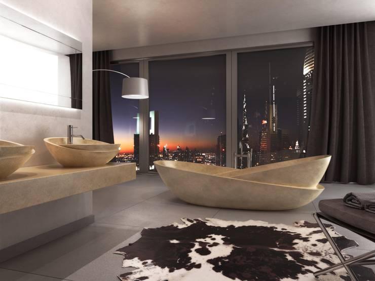 Ванная комната в . Автор – PURAPIETRA