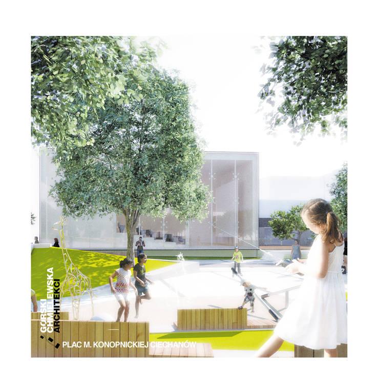 KONKURS CIECHANÓW: styl , w kategorii  zaprojektowany przez GÓRSKI CHMIELEWSKA ARCHITEKCI