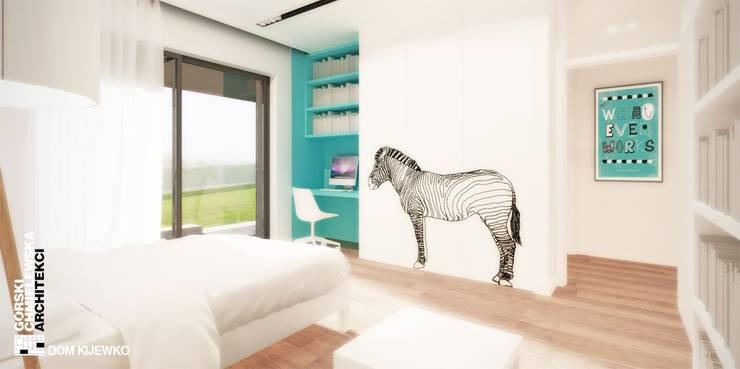 WNĘTRZE KIJEWKO: styl , w kategorii Pokój dziecięcy zaprojektowany przez GÓRSKI CHMIELEWSKA ARCHITEKCI,