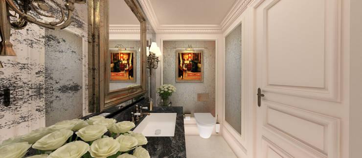 Kerim Çarmıklı İç Mimarlık – A.G. Evi:  tarz Banyo, Klasik