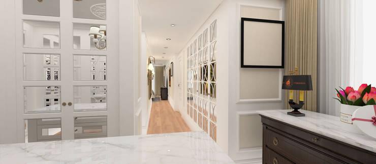 Kerim Çarmıklı İç Mimarlık – A.G. Evi:  tarz Giyinme Odası