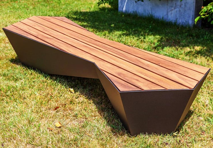 Skew Bench : Jardim  por SIT URBAN