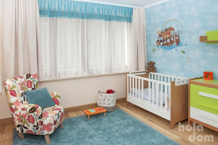 Pokój dziecięcy : styl , w kategorii Pokój dziecięcy zaprojektowany przez HOLADOM Ewa Korolczuk Studio Architektury i Wnętrz