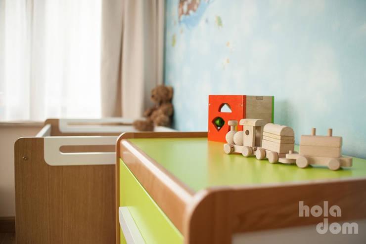 Pokój dziecięcy: styl , w kategorii Pokój dziecięcy zaprojektowany przez HOLADOM Ewa Korolczuk Studio Architektury i Wnętrz