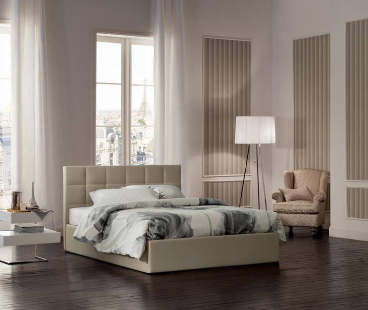 SUPER STORAGE BEDS: Camera da letto in stile  di OGGIONI - The Storage Bed Specialist
