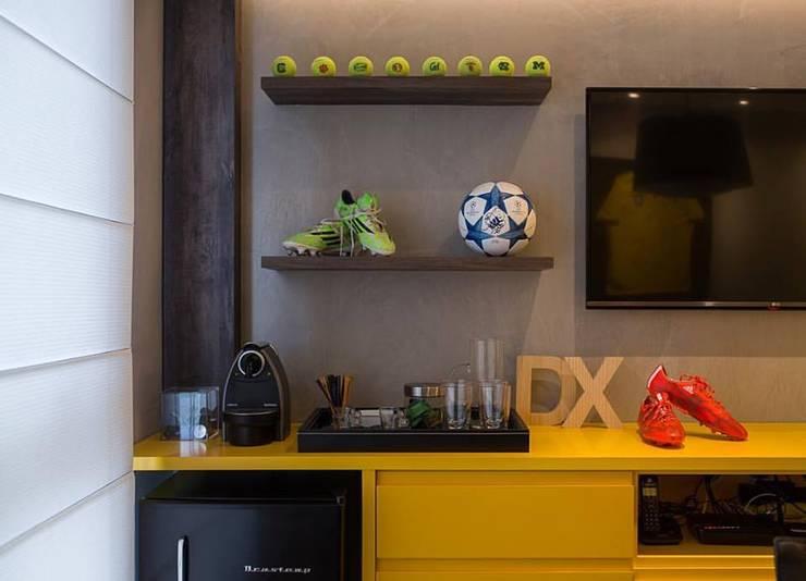 Escritório Barra da Tijuca- Le Monde: Edifícios comerciais  por Duplex Interiores