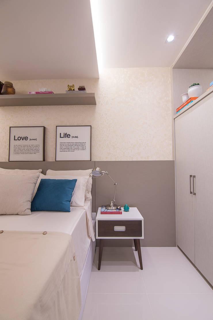 Cobertura Recreio dos Bandeirantes- RJ: Quartos  por Duplex Interiores