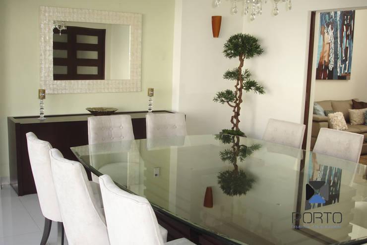 "Proyecto Residencial ""Casa AG02"": Comedores de estilo  por PORTO Arquitectura + Diseño de Interiores"