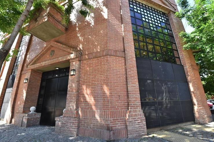 La Maquinita: Casas de estilo moderno por Trua arqruitectura