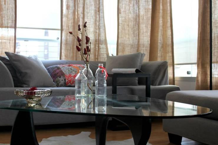 Salas / recibidores de estilo  por Trua arqruitectura, Moderno