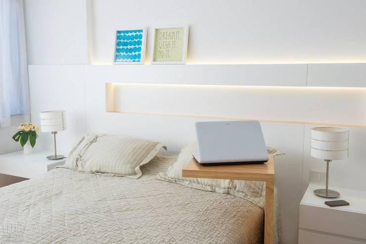 Dormitorios de estilo  por Trua arqruitectura