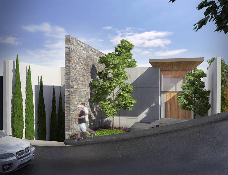 Casa Barcelona: Casas de estilo  por Lozano Arquitectos