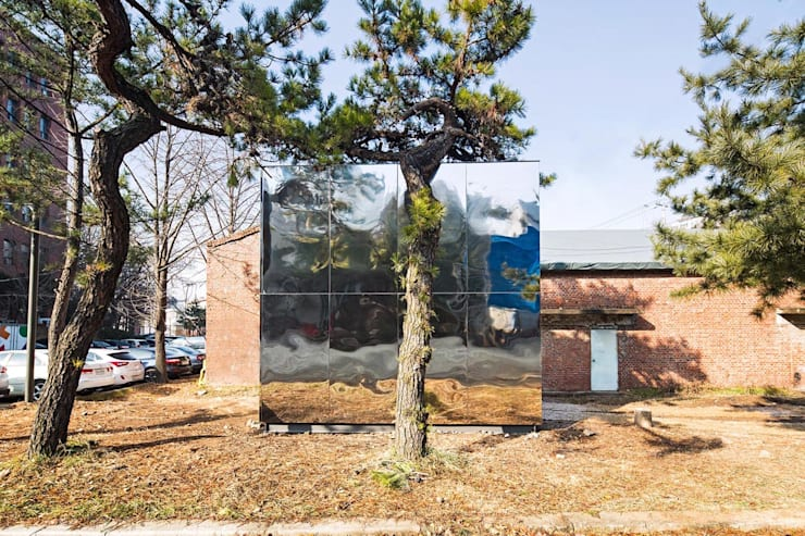 Mobile library by SpaceTong (ArchiWorkshop): 건축공방  'ArchiWorkshop'의