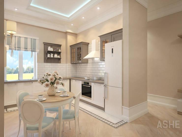 Квартира в жилом доме на ул. Ленина: Кухни в . Автор – Студия авторского дизайна ASHE Home