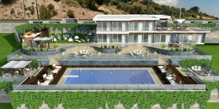 Mimari 3D Render  – Mimari 3d ÇANAKKALE:  tarz Evler