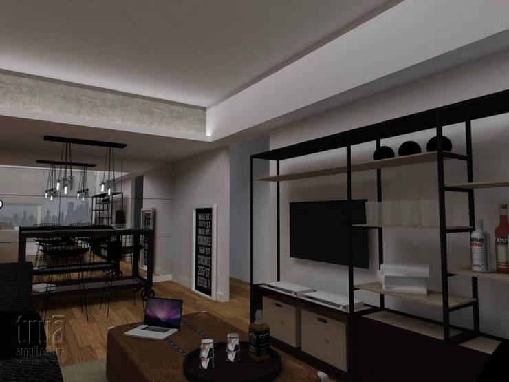 Proyectos: Livings de estilo  por Trua arqruitectura,