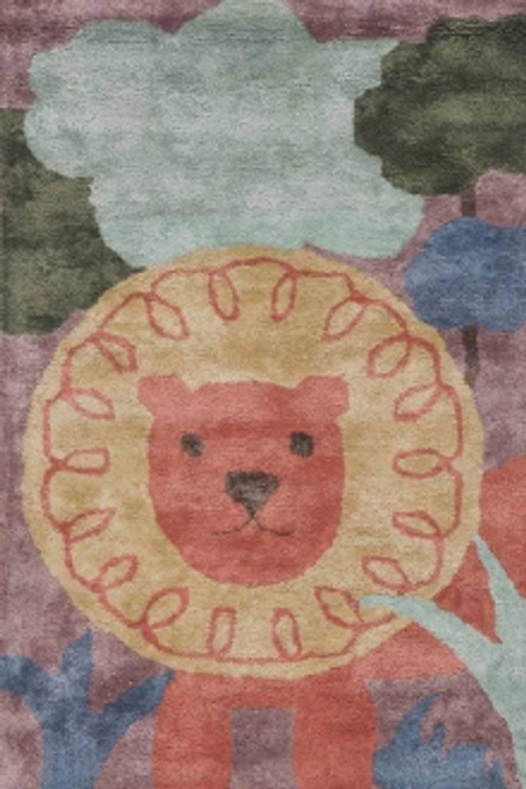 LION RAJA KIDS CARPET MYRUGS.IN: modern  by MYRUGS.IN,Modern