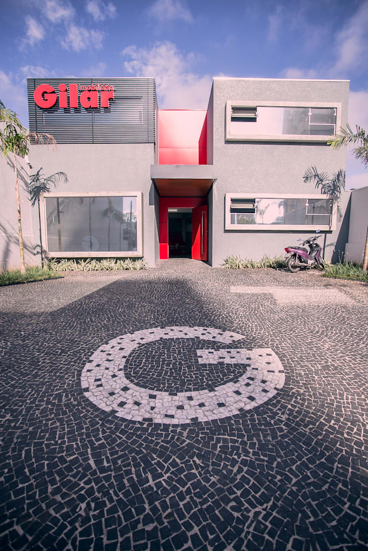 Fachada: Edifícios comerciais  por Andréia Figueiredo Arquitetura,