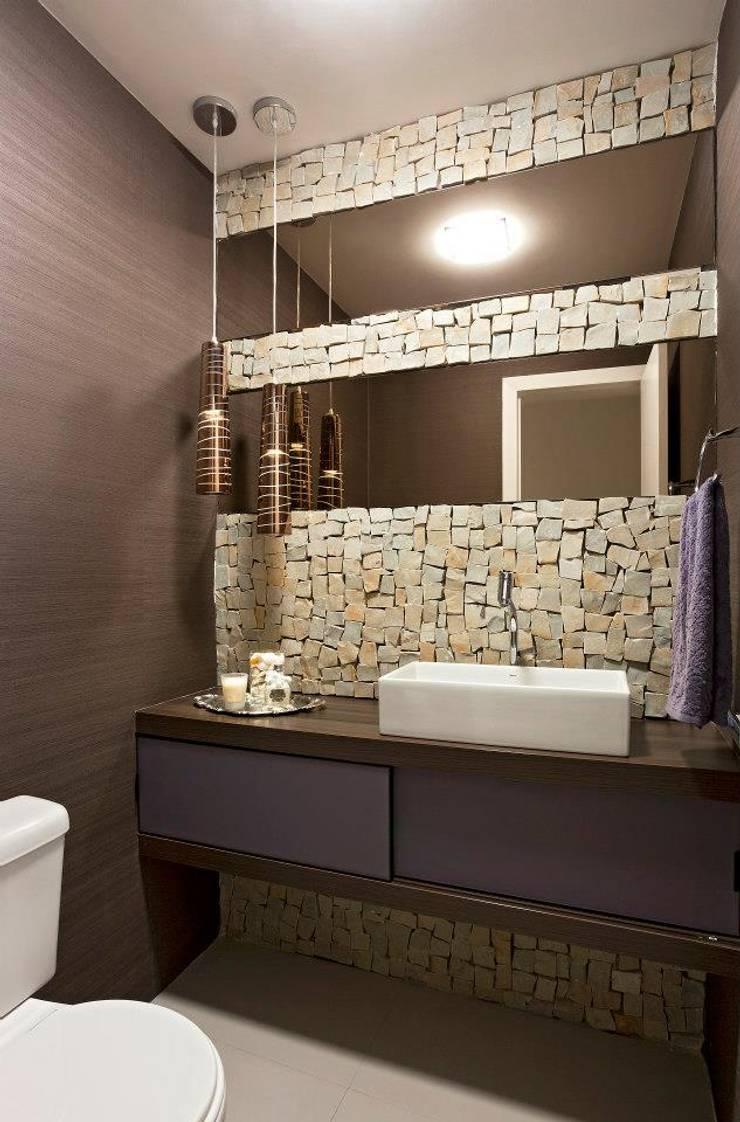 Lavabo: Banheiro  por Gislane Lima - Interior Design